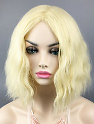 Olivia Liv Moore Custome Wig iZombie Cosplay Wigs Heat Resistant Blonde Short Loose Wave Natural Daily Wearing Wig Fashion Hairstyle