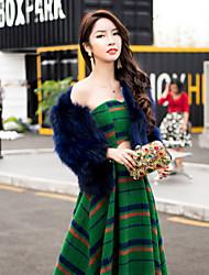 2016 новый зимний развлечение не до красоты передней сексуальный бюстгальтер полые шотландская темперамент большие качели платье