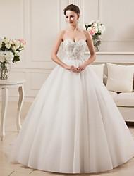 Vestido de noiva, vestido de noiva, vestido de cetim, vestido de casamento com beading bordado