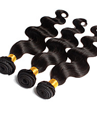 3PCS Lot Indian  Virgin Hair Body Wave Unprocessed Virgin Hair Weave Indian  Body Wave Human Hair Extension