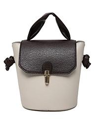 Feminino Couro Ecológico benzóico sacos de balde