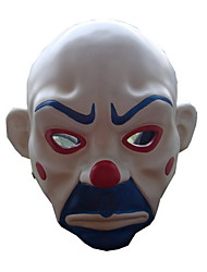 Mask White & Ink Blue & Red Resin Cosplay Accessories Halloween / Carnival / New Year