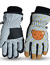 Ski Gloves Winter Gloves Kid's Activity/ Sports Gloves Keep Warm Snowproof Ski & Snowboard PU Ski Gloves