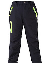 Men's Women's Kid's Hiking Pants Waterproof Thermal / Warm Windproof Rain-Proof Breathable Bottoms for Camping / Hiking Exercise &