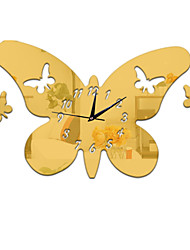 Modern/Contemporary / Casual / Office/Business Family / Birthday Wall Clock,Novelty / Others Metal / Plastic Indoor Clock