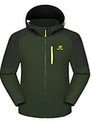 Ski Wear Tops Men's Winter Wear Winter Clothing Waterproof Breathable Thermal / Warm Windproof WearableSkiing Skating Snowboarding