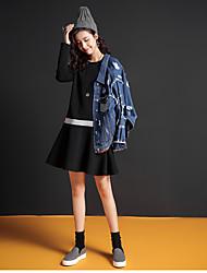 2016 nouveaux hiver plus de velours faux deux couleurs hit couture un allaitement mot de robe