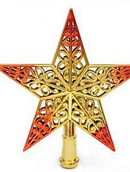 Holiday Props Christmas Decorations Christmas Party Supplies Christmas Tree Ornaments Holiday Supplies Stars Plastic8 to 13 Years 14 Random Color