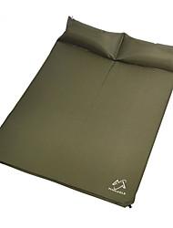 Respirabilidade Almofada de Piquenique Azul Céu / Verde Militar Campismo PVC
