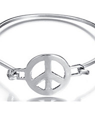 Bracelet Bangles Alloy Others Daily Jewelry Gift Silver,1pc
