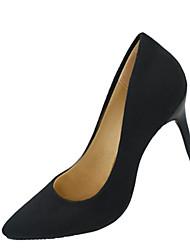 Damen-High Heels-Party & Festivität-Wildleder-Stöckelabsatz Kristallabsatz-Komfort-