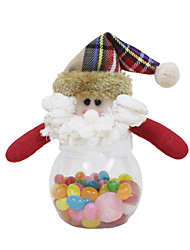 Christmas Decorations / Christmas Toys Holiday Supplies Santa Suits / Elk / Snowman Textile Red / White / Yellow All