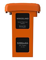 5200 mah 11.1V Capacity Lithium Battery for Wingsland Scarlet Minivet