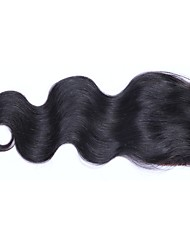 4x4 Silk Base Closure Brazilian Hair Body Wave 100% Human Hair Wigs No Shedding No Tangle