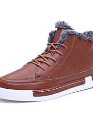 Men's SB Skateboard Running Athletic Sneakers Fur Fleece Suede Casual Outdoor Sport Shoes Black Grey Orange