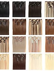 """22 """"clipe polegadas em extensões do cabelo Futura - sete peças conjunto de cabeça cheia - 100 gramas de cabelo por pacote"""