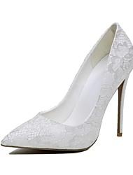 Homme-Mariage-Blanc-Talon Aiguille-Autre-Chaussures à Talons