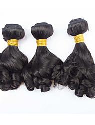 3 Pièces Tissages de cheveux humains Cheveux Brésiliens 300g 8-30inch Extensions de cheveux humains