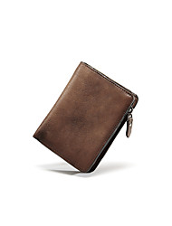 Casual / Office & Career / Professioanl Use / Shopping-Wallet-Cowhide-Men