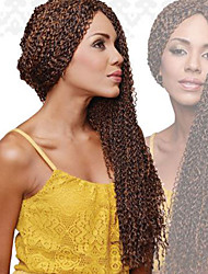 synthetic kinky curly hair crochet knot micro zizi braids Yaki deep Curly Hair Malaysian synthetic zizi crochet braids hair 24inch
