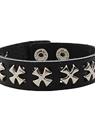 Inspired by Cosplay Anime Cosplay Accessories White / Black Leather Male / Female