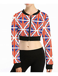 Women's Simple Jacket,Print