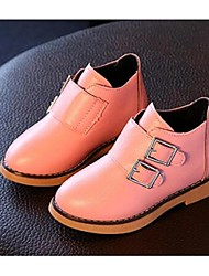 Girl's Boots Comfort Leatherette Casual Pink Red