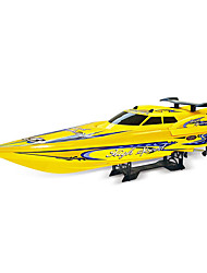 Speedboat NQD 757T 1:10 RC Boat Brushless Electric 2 2.4G Yellow