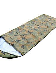 Спальный мешок Прямоугольный Односпальный комплект (Ш 150 x Д 200 см) -15-20 Пористый хлопок 300г 190X75Пешеходный туризм Походы