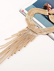 MPL Europe and the United States with atmospheric long multi Tassel Necklace