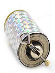 Acessórios de Magia Hobbies de Lazer Forma Cilindrica Metal Arco-Íris Para Meninos Para Meninas 8 a 13 Anos 14 Anos ou Mais