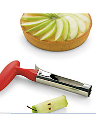 1 Piece Apple Seed Remover For Fruit Metal Creative Kitchen Gadget