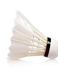 Bola de Badminton( DEPenas de Pato,Branco) -Força Alta Elasticidade Alta Durabilidade