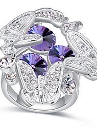 Ringe / Alltag Normal Schmuck Aleación Damen Ring 1 Stück,13 15 Silber