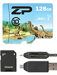 ZP 128GB Micro SD card Class 10 80 OtherMultiple in one card reader Micro sd card reader SD card reader CF card reader Memory stick reader