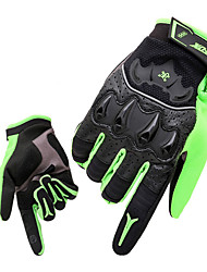 Gloves Sports Gloves Men's Cycling Gloves Spring Autumn/Fall Winter Bike Gloves Shockproof Breathable Wearable Full-finger Gloves Lycra