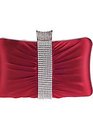L.WEST Women's Sweet Silken Diamonds Fold Evening Bag