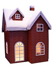3D пазлы Товары для Рождественской вечеринки Товары для отпуска 1 Рождество Бумага Радужный