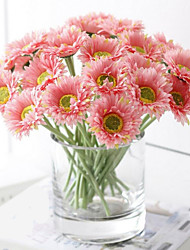 Generic 1x Artificial Gerbera Daisy Flowers Heads for DIY Wedding Party Home Decoration