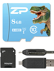 ZP 8 Гб MicroSD Класс 10 80 Other Множественный в одном кард-ридер Считыватель Micro SD карты устройства для чтения карт памяти SD ZP-1