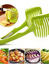 1 ед. Томатный / Оранжевый / Лимонный / Apple Cutter & Slicer For Для фруктов Пластик Творческая кухня Гаджет
