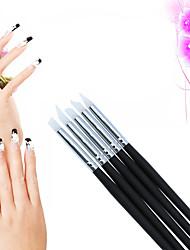 Инструменты рисования / Набор кистей для ногтей Лак для ногтей SalonTool Макияж