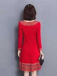 signer 2016 hiver nouvelle couleur solide simple, sauvage une jupe de personnalité de la mode mot robe femelle creux