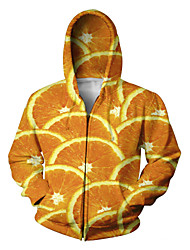 Festival/Holiday Halloween Costumes Orange Print Christmas Unisex Polyester