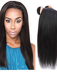 "Brazilian Hair virgin human hair Straight 20"" 22"" 24"" inch 3pcs/lot Cheap Brazilian Hair"