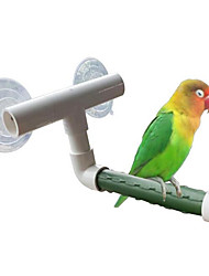 Bird Toys Plastic Green