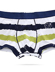 Men Rainbow Boxers Underwear,Cotton