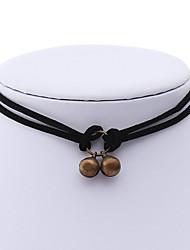 Collane e accessori per il collo-Per donnaVelluto