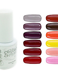 yemannvyou®sequins de color de uñas de gel UV no.97-108 polaco (5 ml, colores surtidos)