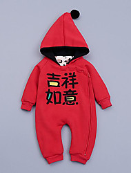 Baby Casual/Daily Solid One-Pieces,Rayon Winter Long Sleeve